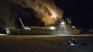 KV Svalbard WaveBuoy Deployment (2)